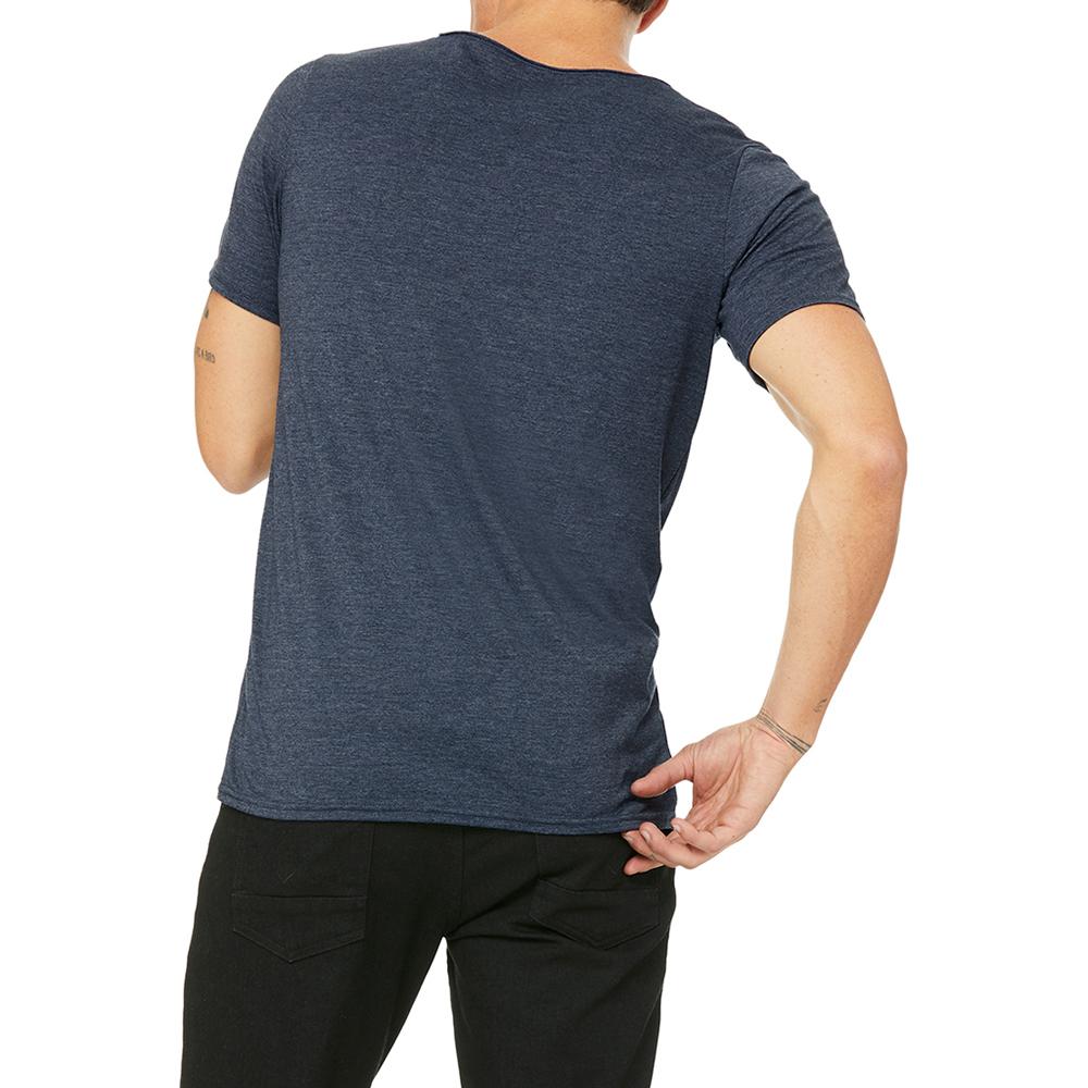 Bella-Canvas-Unisex-Raw-Neck-T-Shirt-PC2934 thumbnail 6