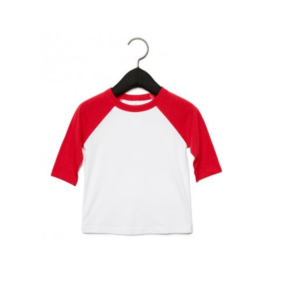 Bella-Canvas-Toddler-3-4-Sleeve-Baseball-T-Shirt-PC2935