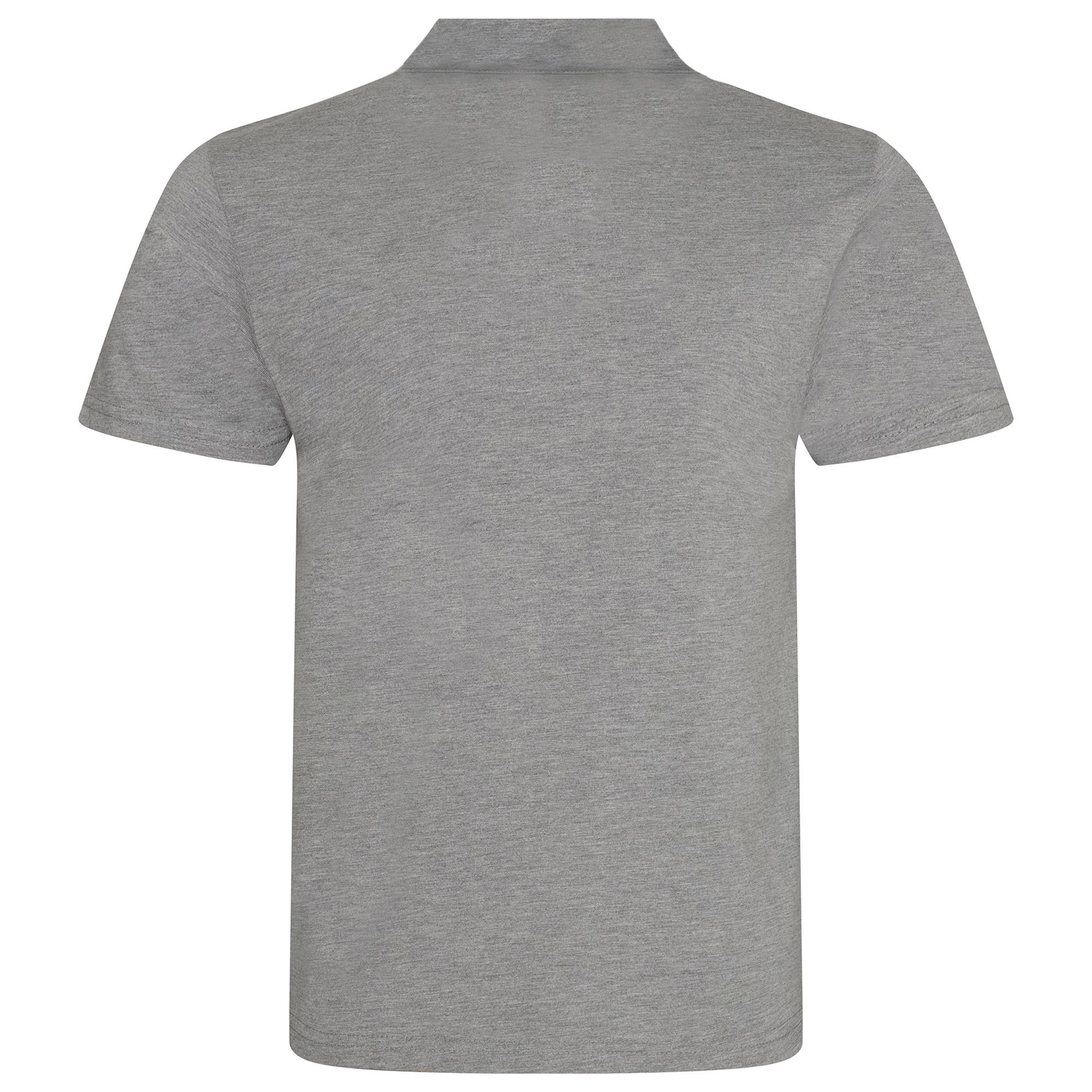 AWDis Mens Tri-Blend Polo Shirt (XL) (Heather Red)