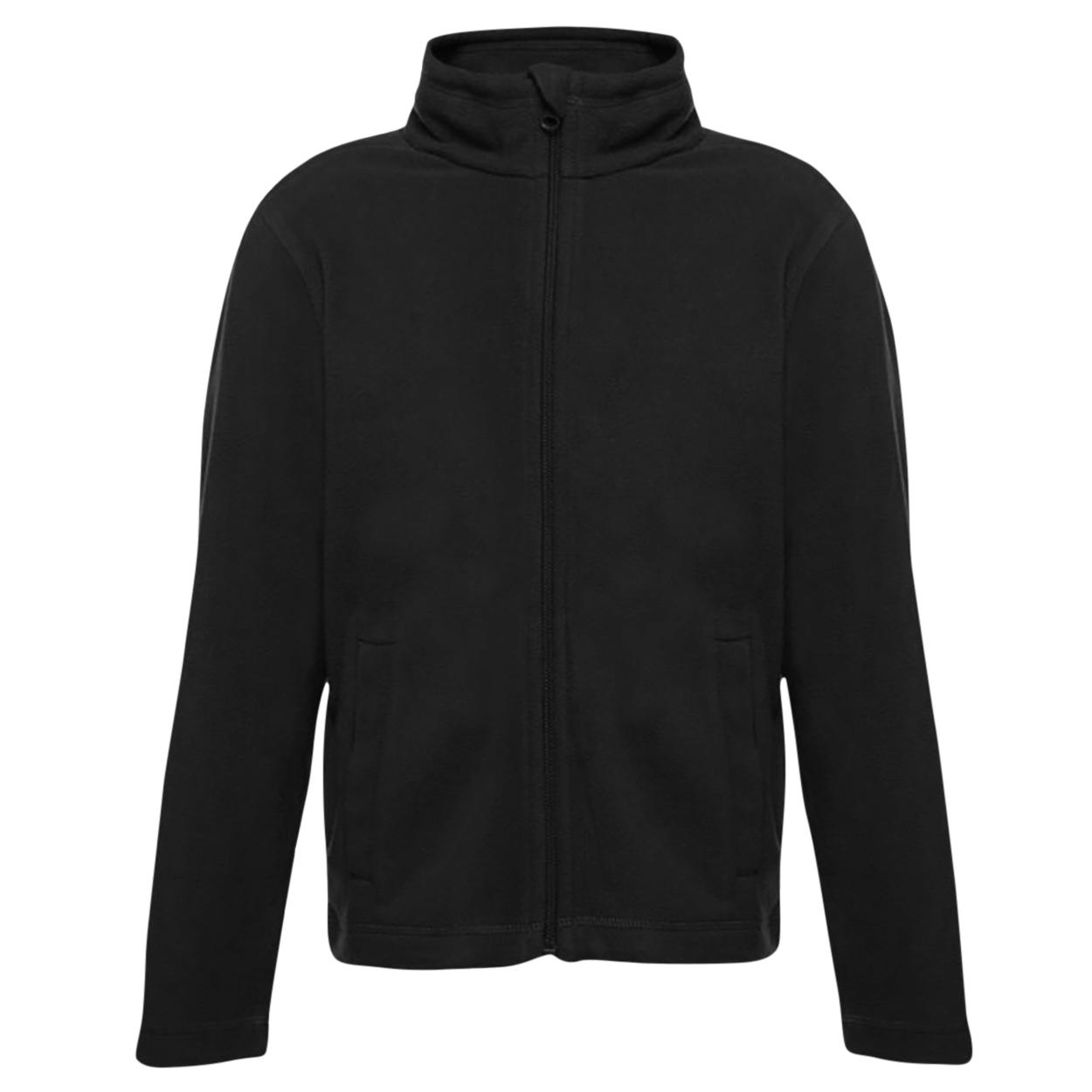 Regatta Childrens/Kids Brigade II Micro Fleece Jacket (2 Years) (Black)