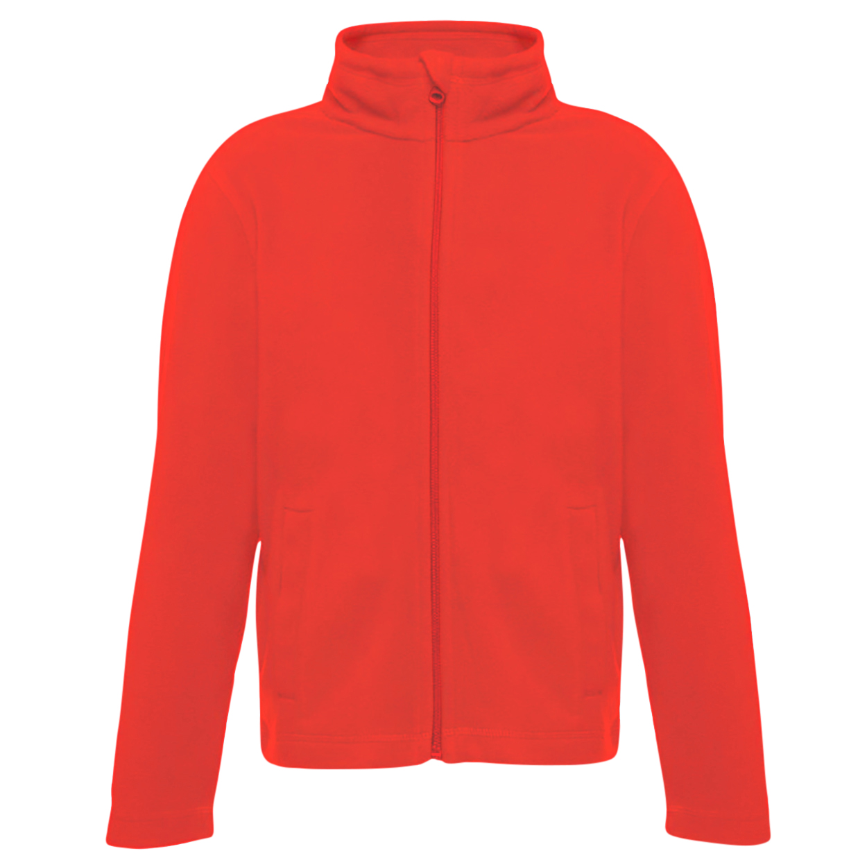 Regatta Childrens/Kids Brigade II Micro Fleece Jacket (5-6 Years) (Classic Red)