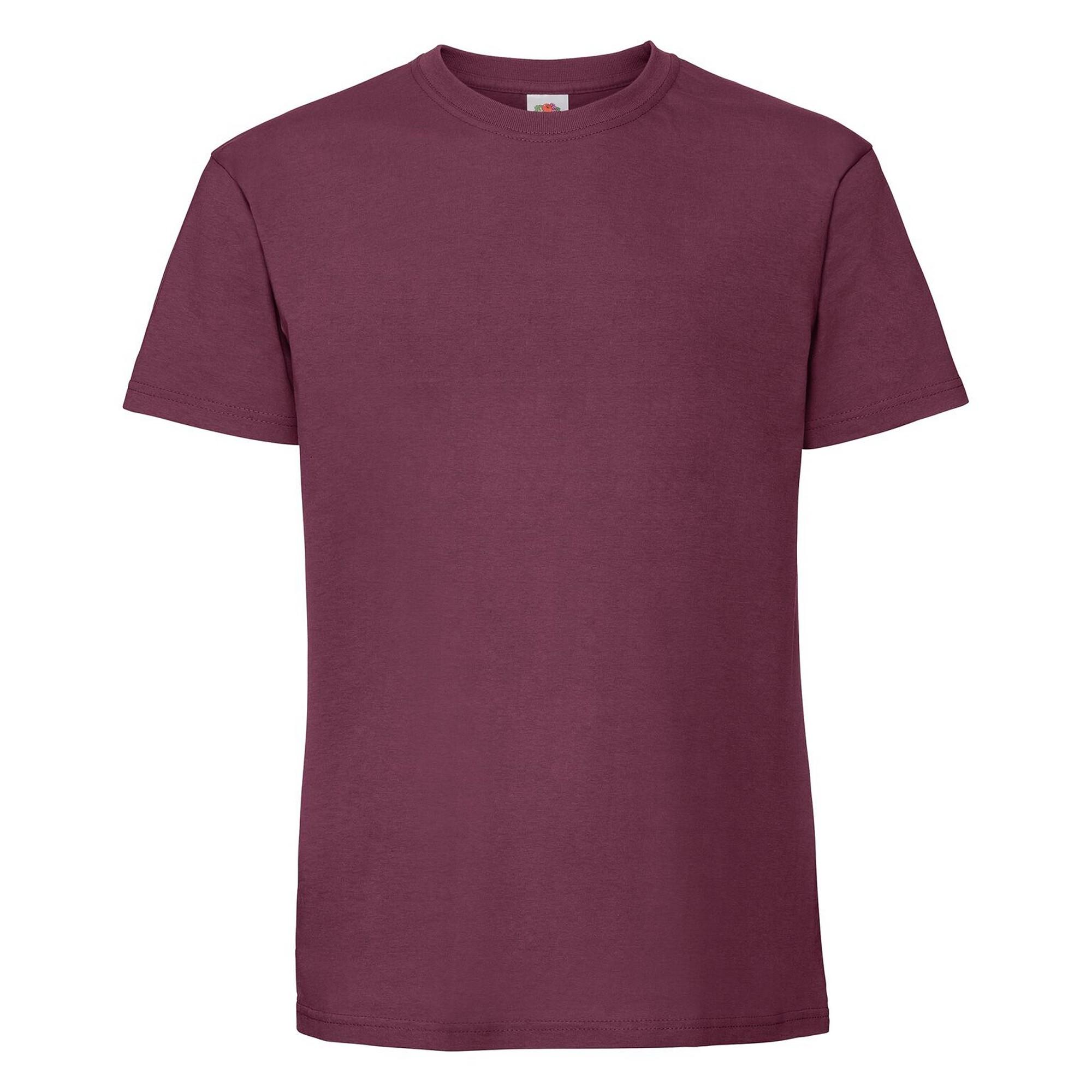 Fruit-Of-The-Loom-Camiseta-de-algodon-Ringspun-para-hombre-PC3033
