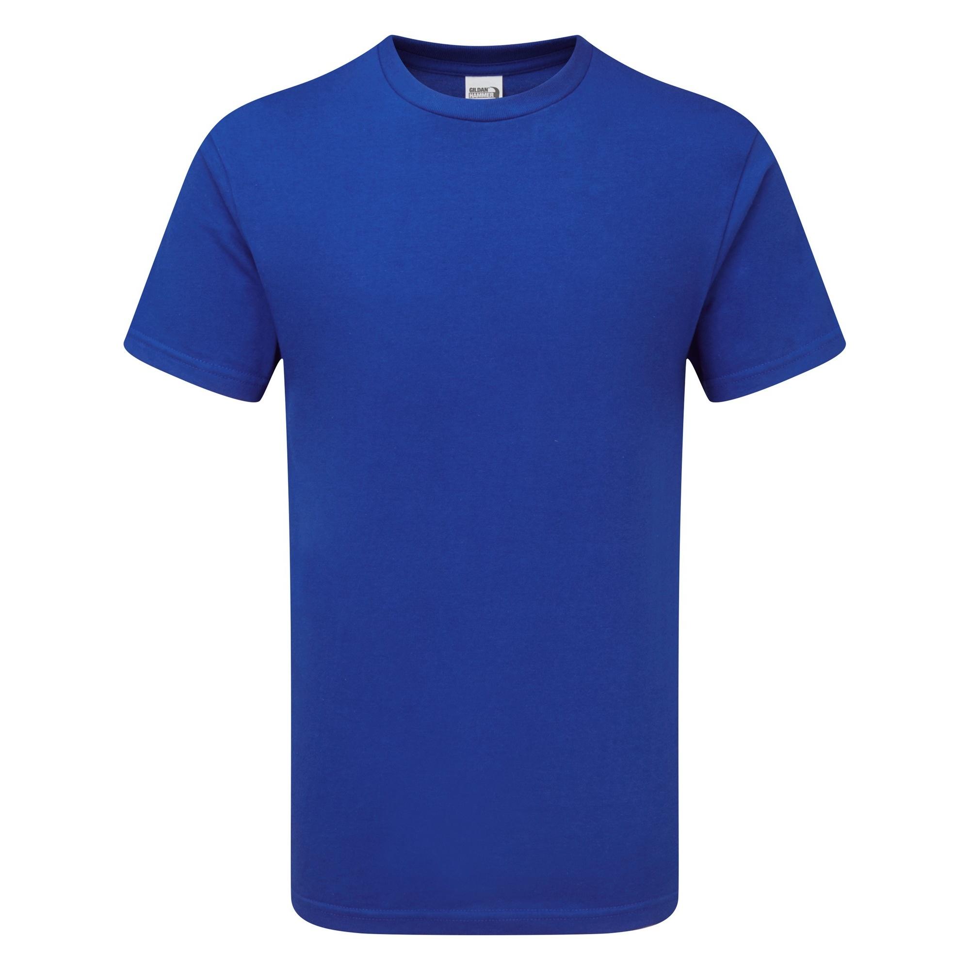 Gildan Mens Hammer Heavyweight T-Shirt (2XL) (Sport Royal)