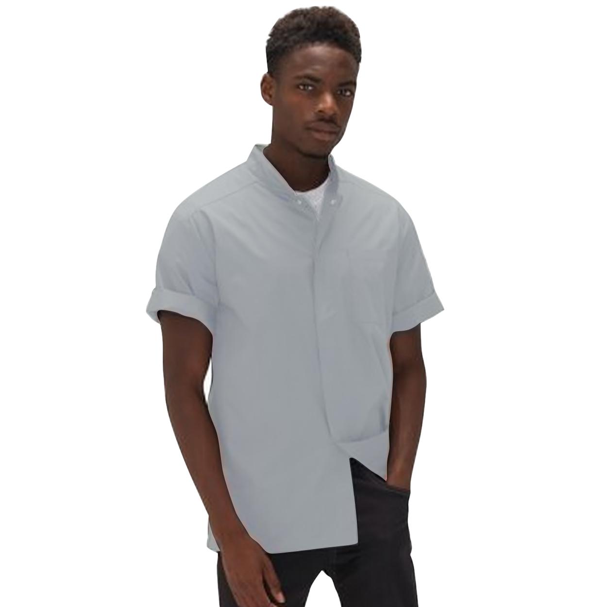 Le Chef Mens Lightweight Shirt (XS) (White/White)