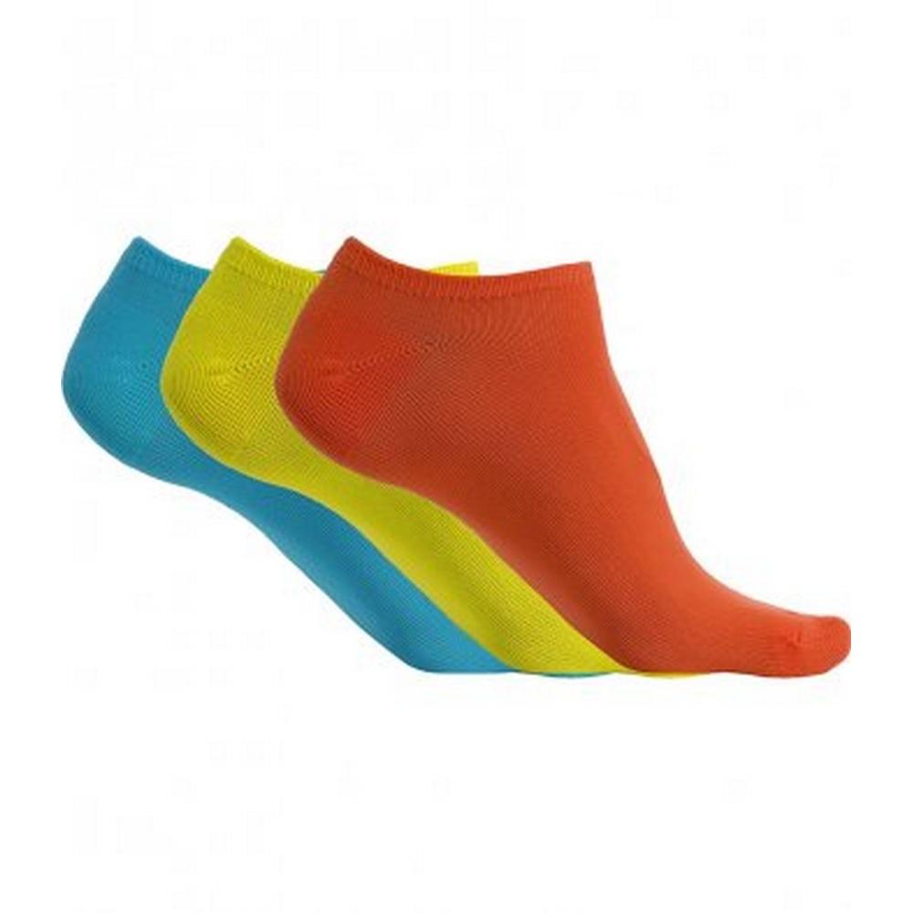 Proact-Womens-Ladies-Microfibre-Sneaker-Socks-3-Pairs-PC3097