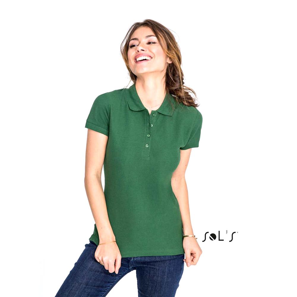miniature 50 - SOLS-Passion-Polo-100-coton-a-manches-courtes-Femme-S-2XL-16-PC317