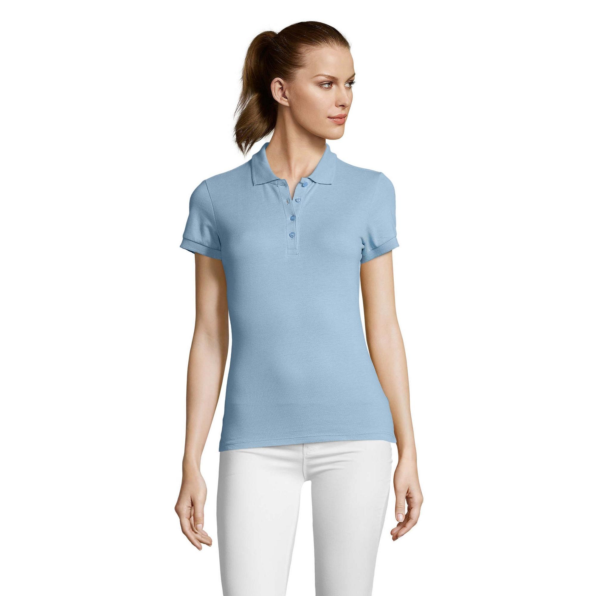 miniature 87 - SOLS Passion - Polo 100% coton à manches courtes - Femme (S-2XL) 16 (PC317)