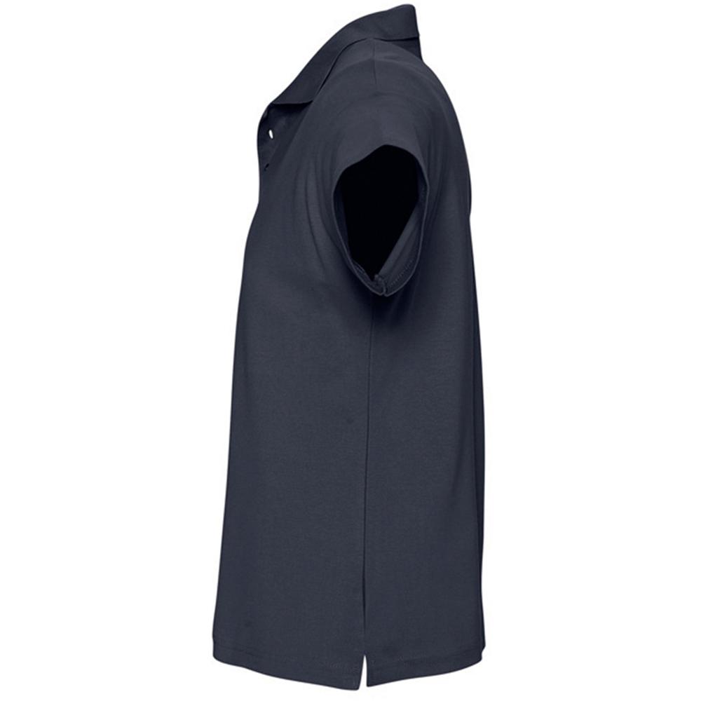 SOLS Mens Summer II Pique Short Sleeve Polo Shirt (XXL) (Burgundy)