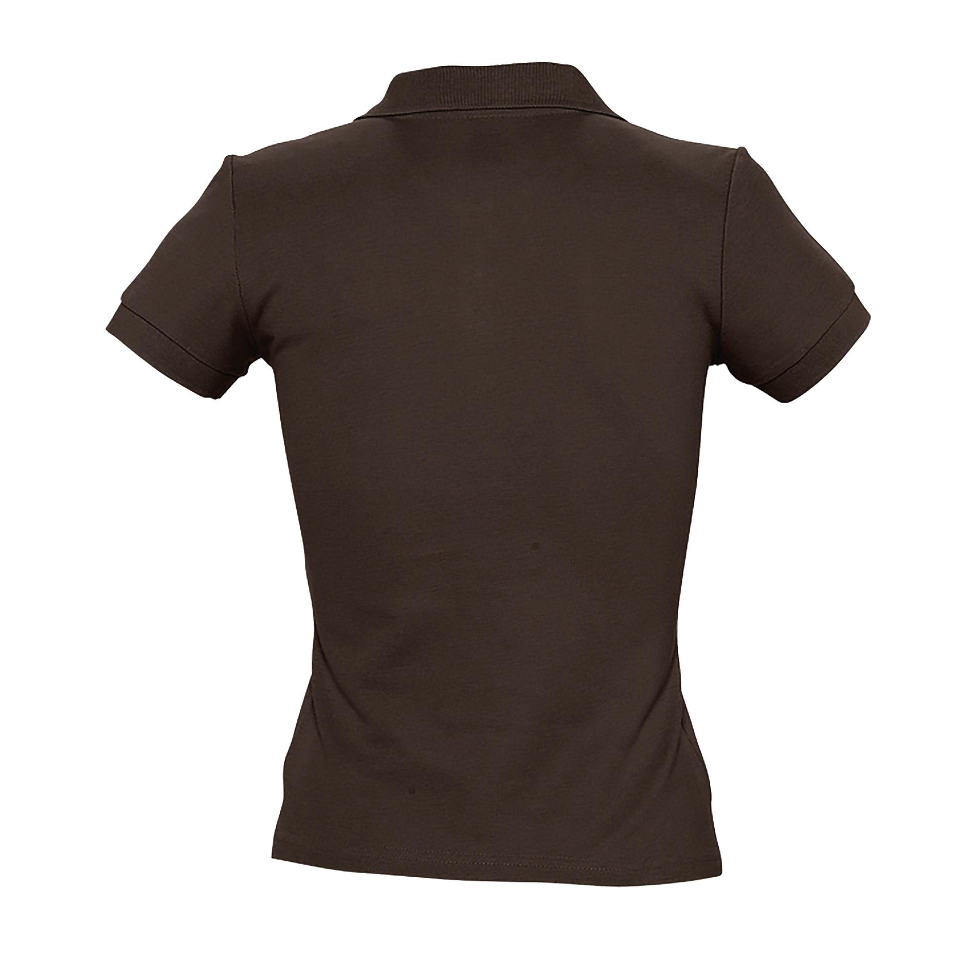 miniature 36 - SOLS-People-Polo-100-coton-a-manches-courtes-Femme-S-2XL-17-PC319