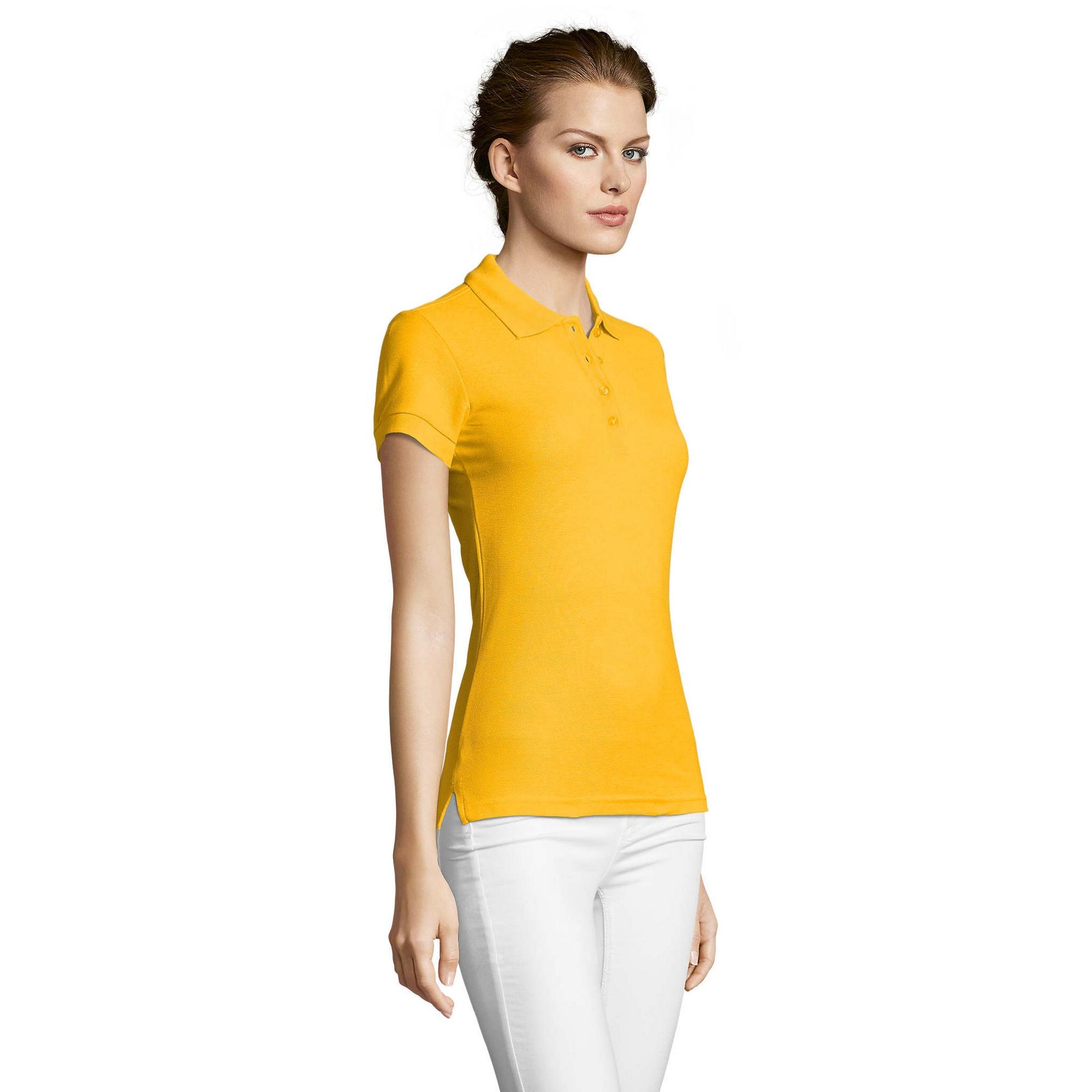 miniature 17 - SOLS-People-Polo-100-coton-a-manches-courtes-Femme-S-2XL-17-PC319