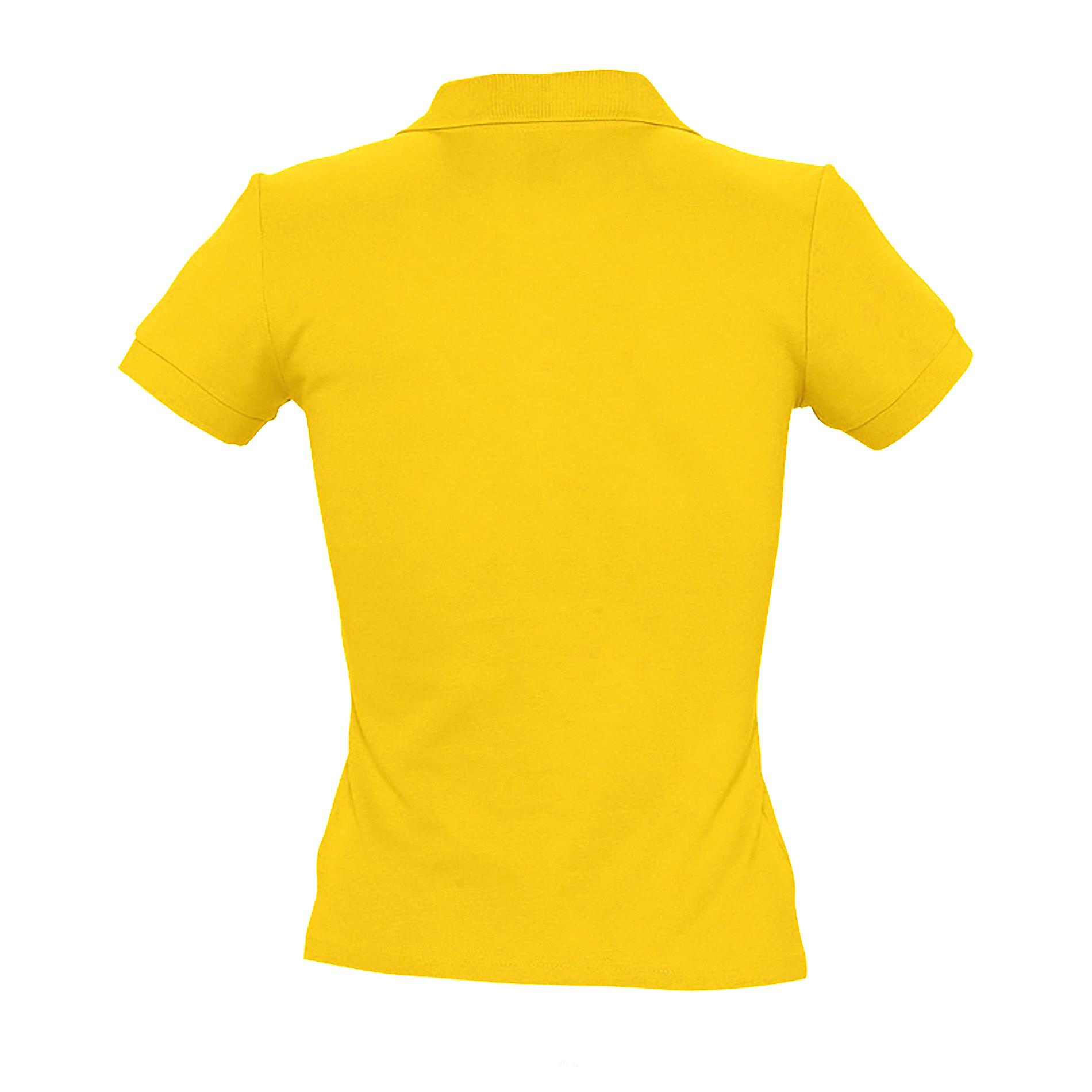 miniature 4 - SOLS-People-Polo-100-coton-a-manches-courtes-Femme-S-2XL-17-PC319