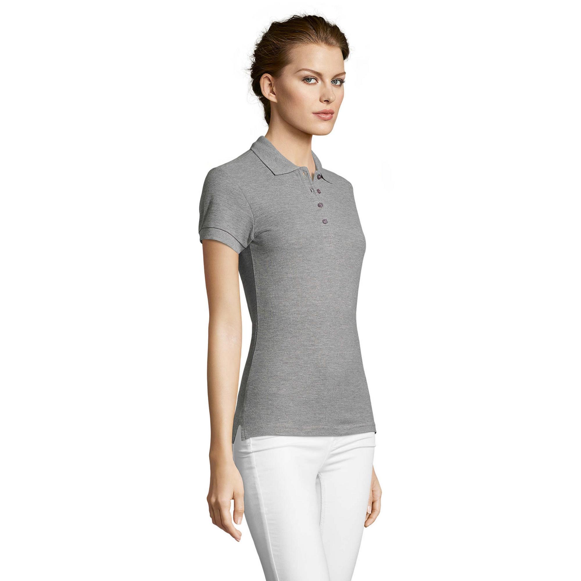 miniature 47 - SOLS-People-Polo-100-coton-a-manches-courtes-Femme-S-2XL-17-PC319