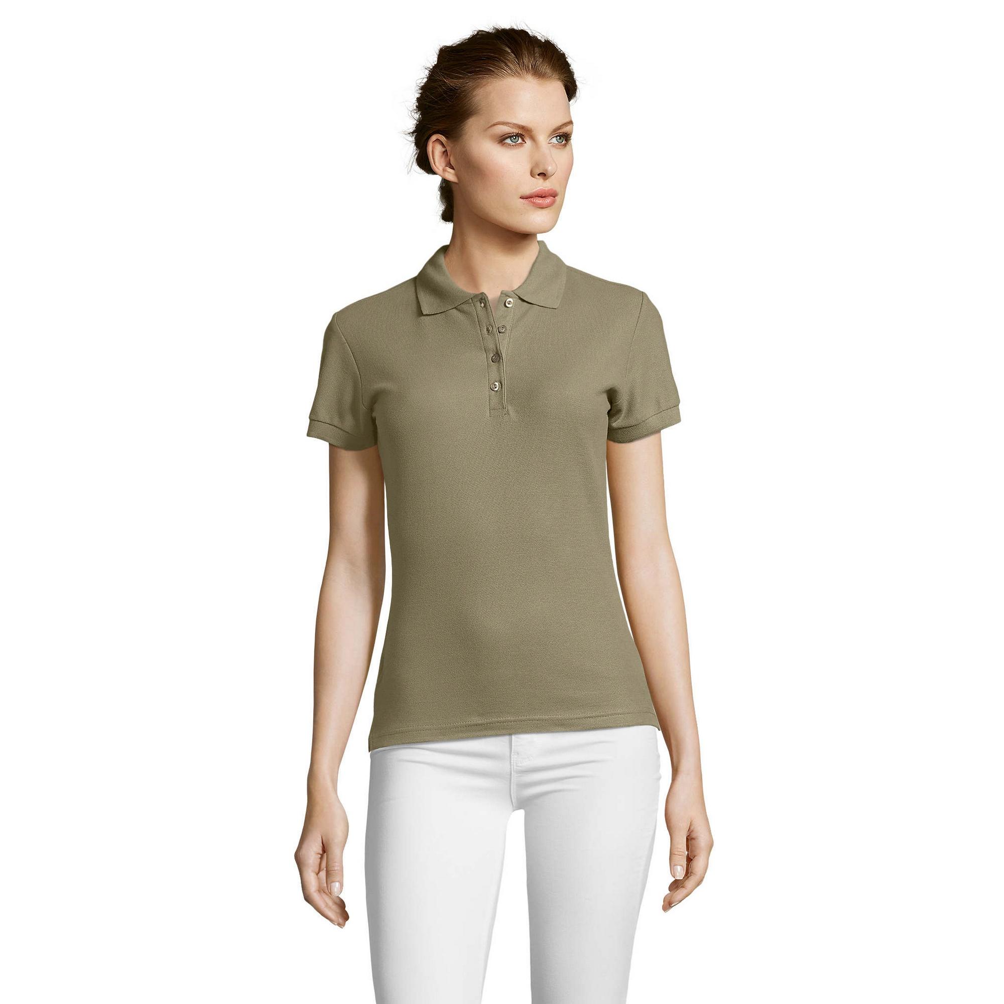 miniature 62 - SOLS-People-Polo-100-coton-a-manches-courtes-Femme-S-2XL-17-PC319