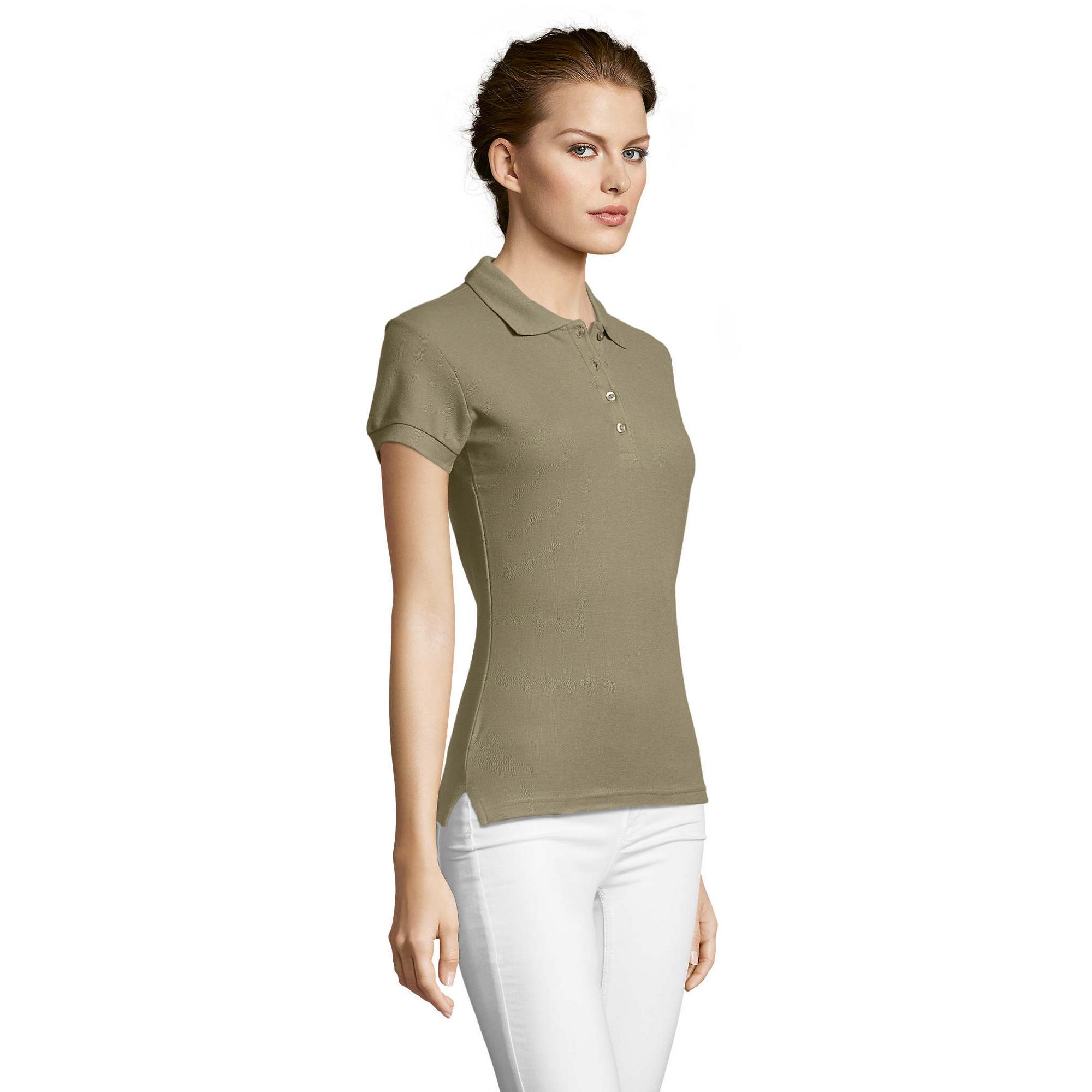 miniature 63 - SOLS-People-Polo-100-coton-a-manches-courtes-Femme-S-2XL-17-PC319