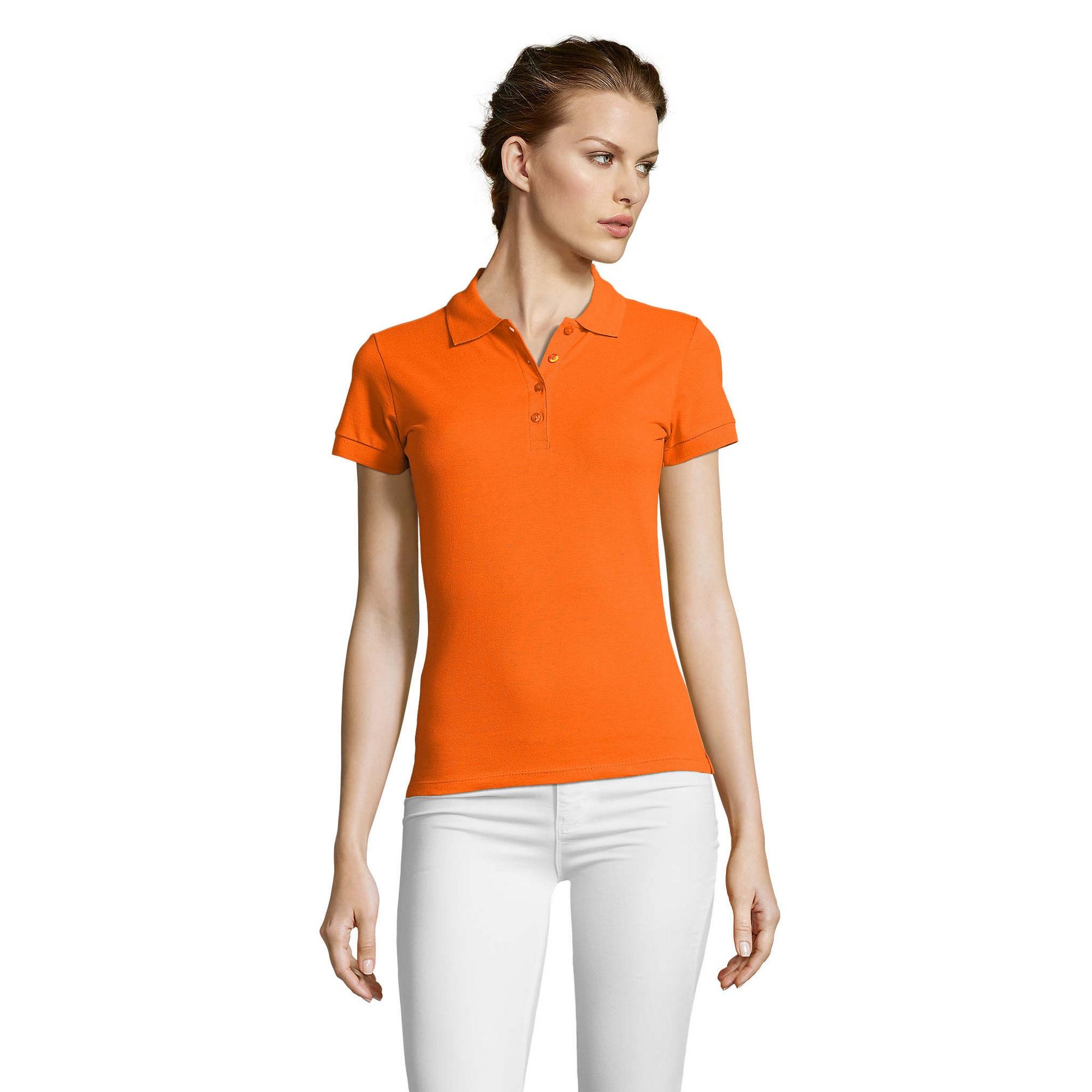 miniature 12 - SOLS-People-Polo-100-coton-a-manches-courtes-Femme-S-2XL-17-PC319