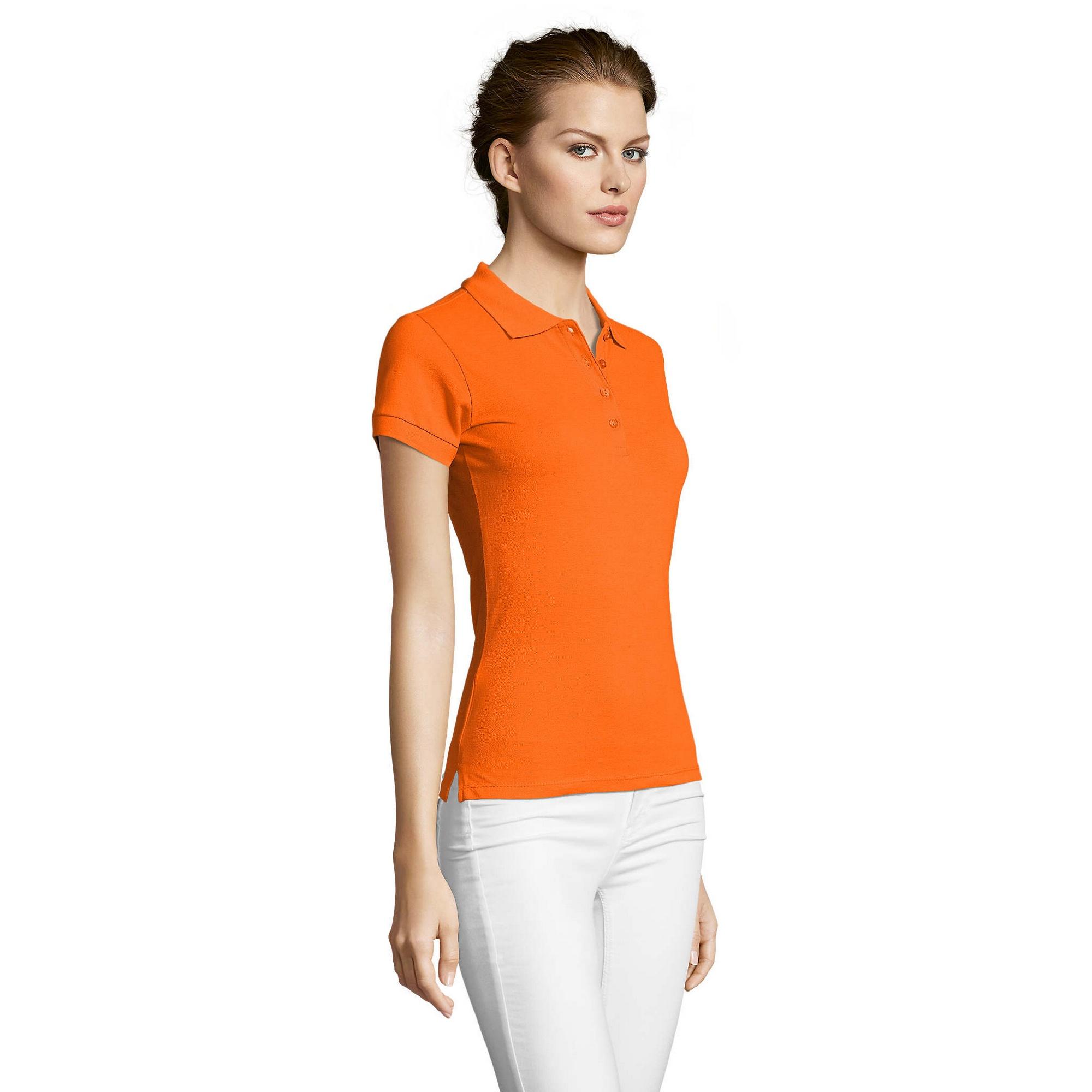 miniature 13 - SOLS-People-Polo-100-coton-a-manches-courtes-Femme-S-2XL-17-PC319