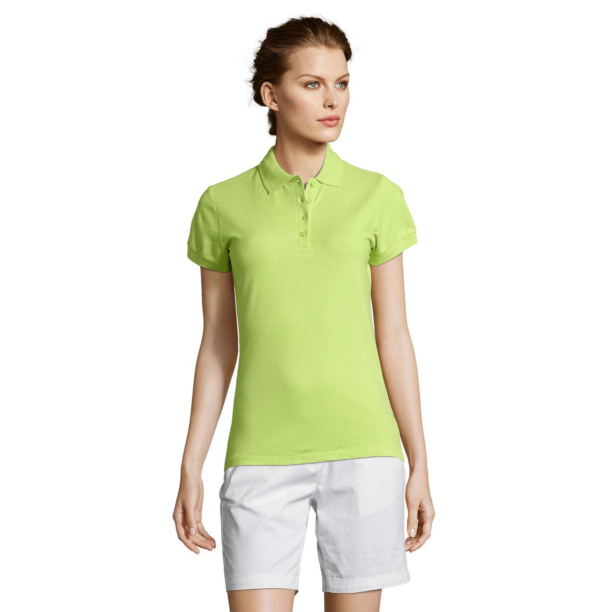 miniature 70 - SOLS-People-Polo-100-coton-a-manches-courtes-Femme-S-2XL-17-PC319