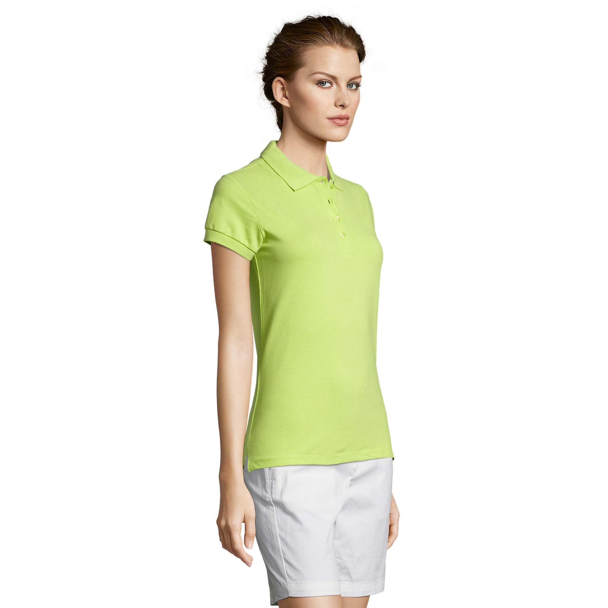 miniature 71 - SOLS-People-Polo-100-coton-a-manches-courtes-Femme-S-2XL-17-PC319