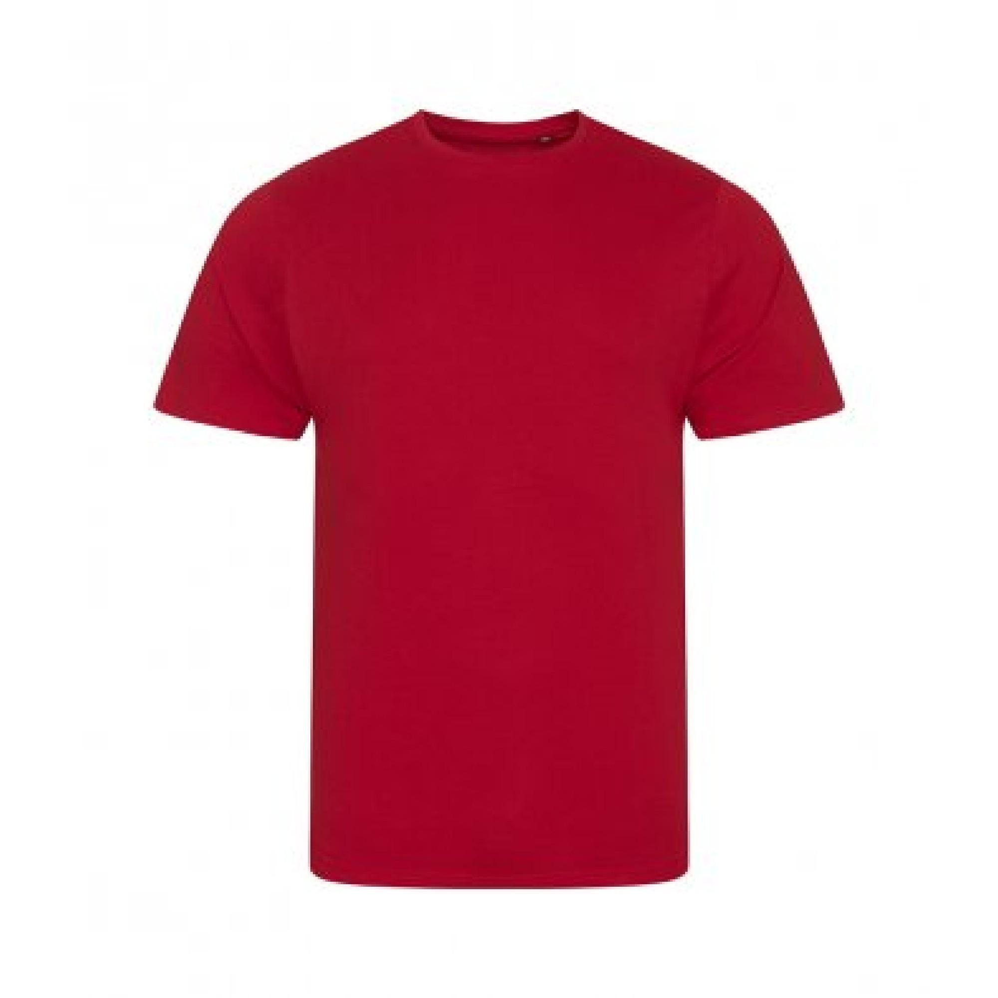 Ecologie Mens Organic Cascades T-Shirt (XL) (Fire Red)