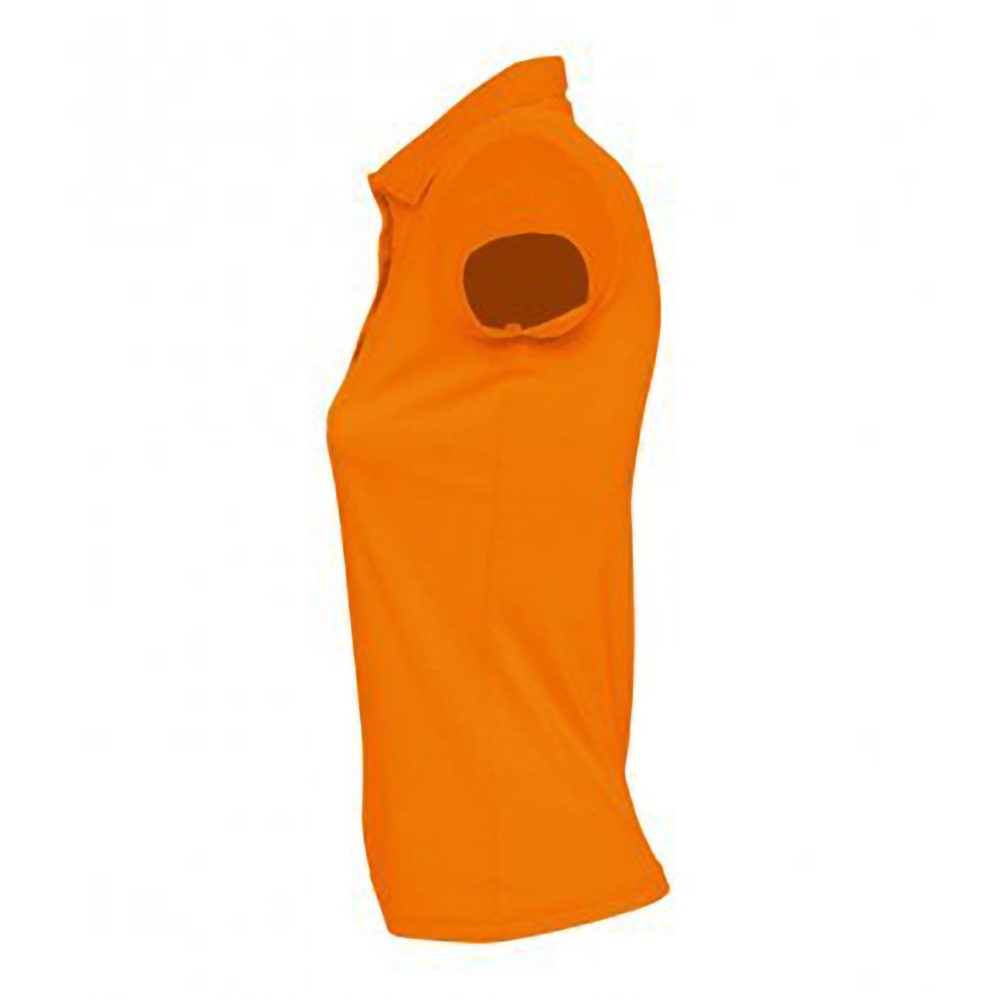 SOLS Womens/Ladies Prescott Short Sleeve Jersey Polo Shirt (M) (Red)