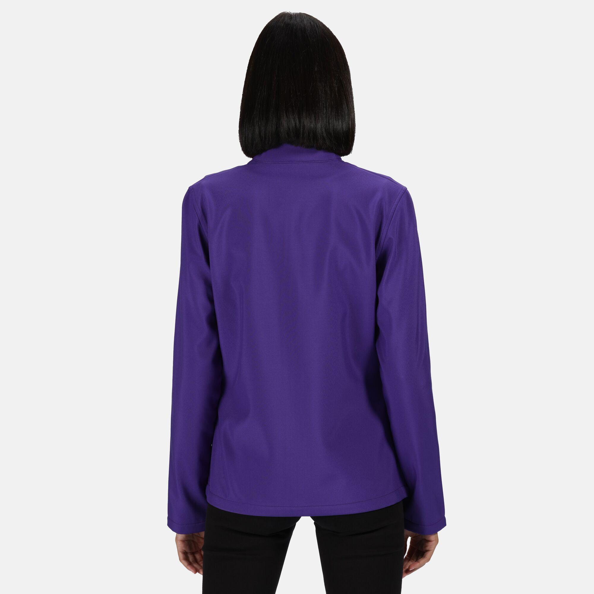 Regatta Standout Womens/Ladies Ablaze Printable Soft Shell Jacket (14) (Extreme Green/Black)