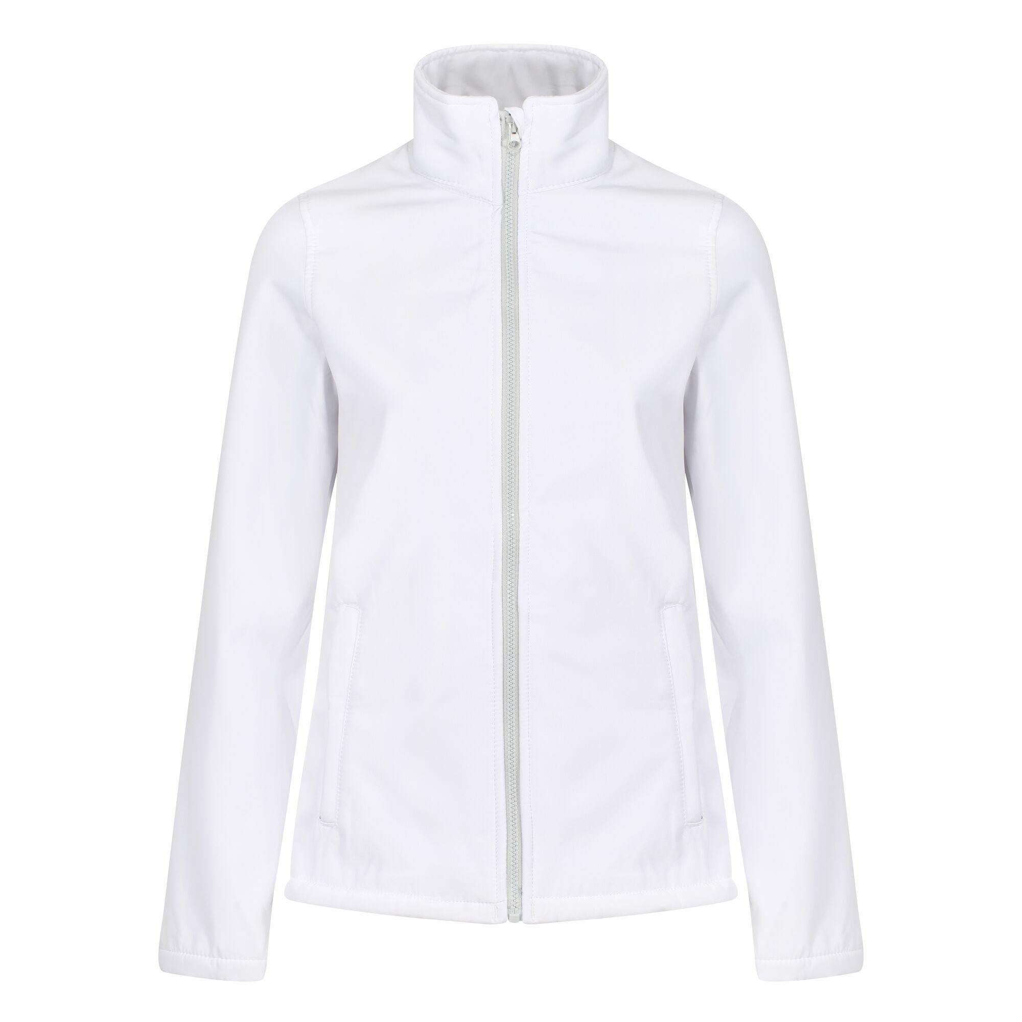 Regatta Standout Womens/Ladies Ablaze Printable Soft Shell Jacket (16) (Classic Red/Black)