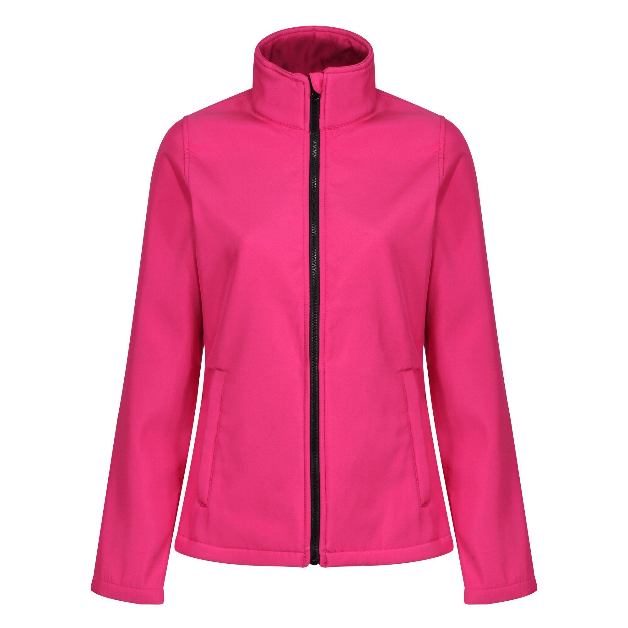 Regatta Standout Womens/Ladies Ablaze Printable Soft Shell Jacket (10) (French Blue/Navy)