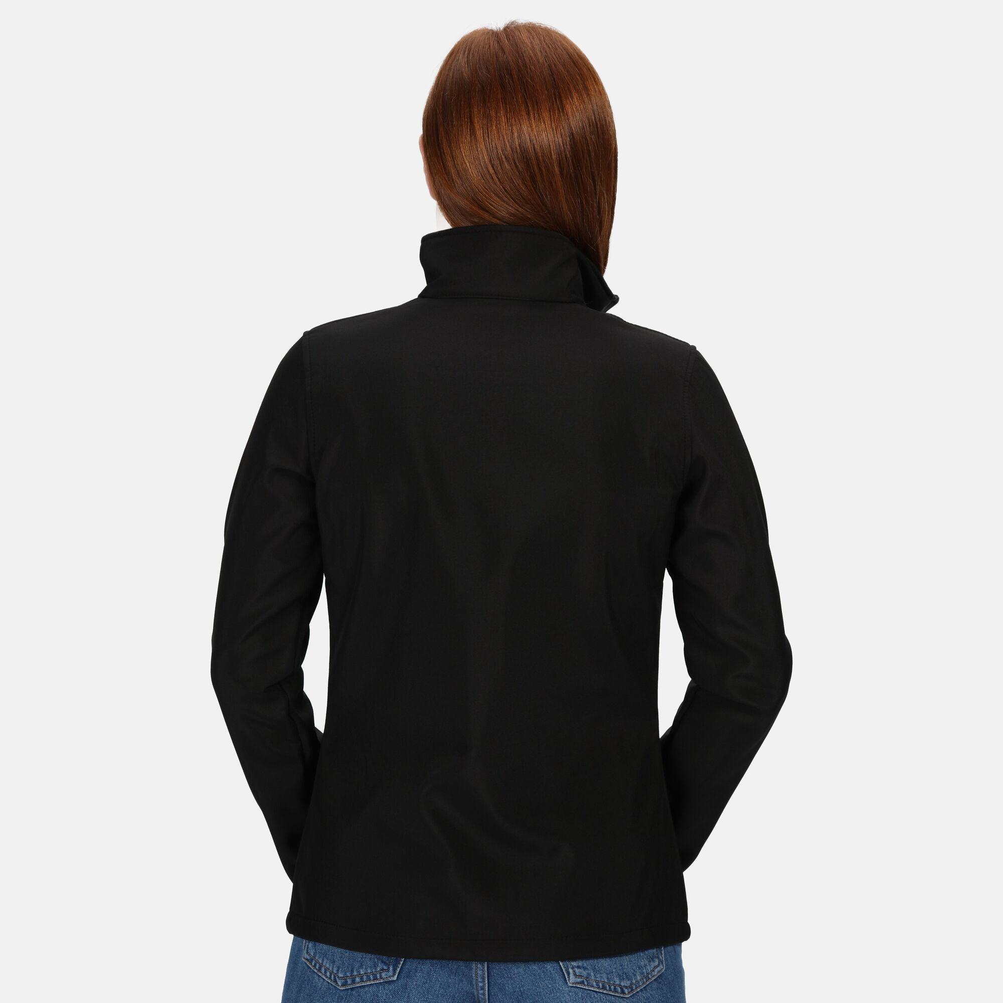 Regatta Standout Womens/Ladies Ablaze Printable Soft Shell Jacket (10) (Dark Spruce/Black)