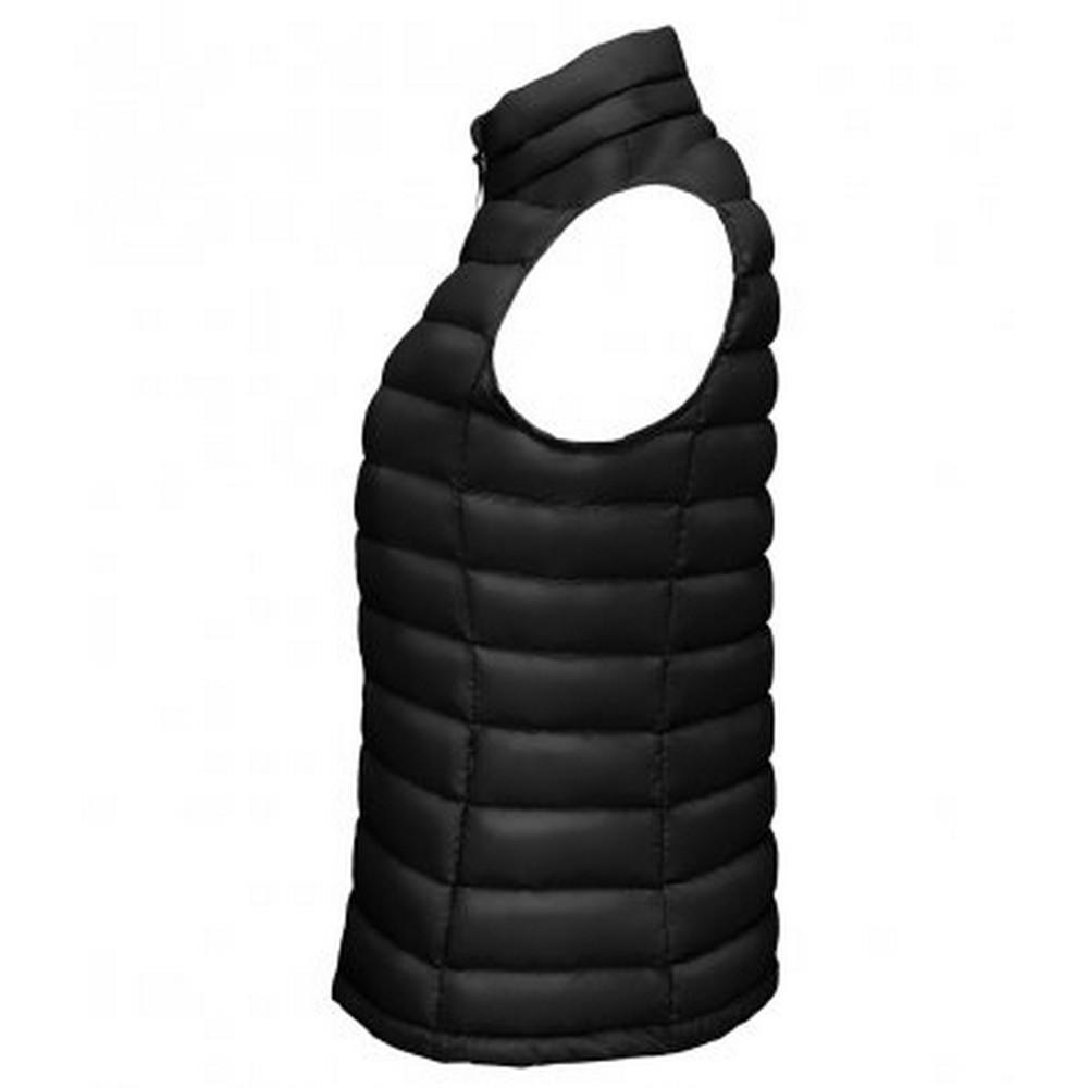 SOLS Womens/Ladies Wilson Lightweight Padded Bodywarmer (XL) (Black)