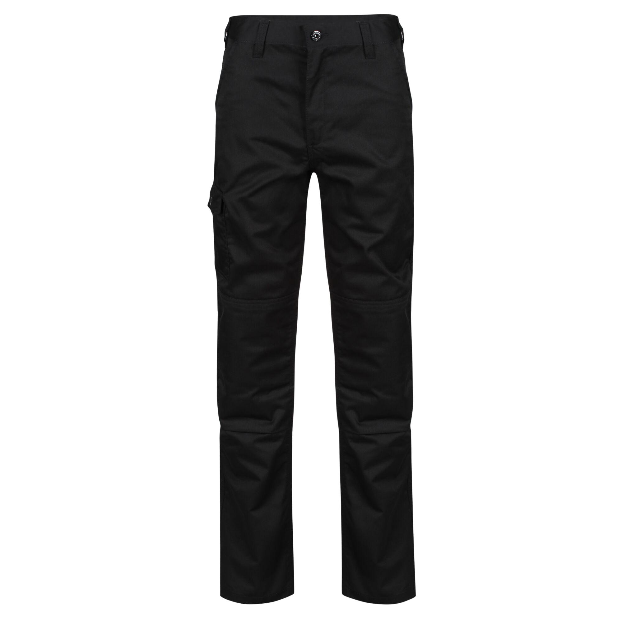 Regatta Mens Pro Cargo Trousers (38/R) (Black)