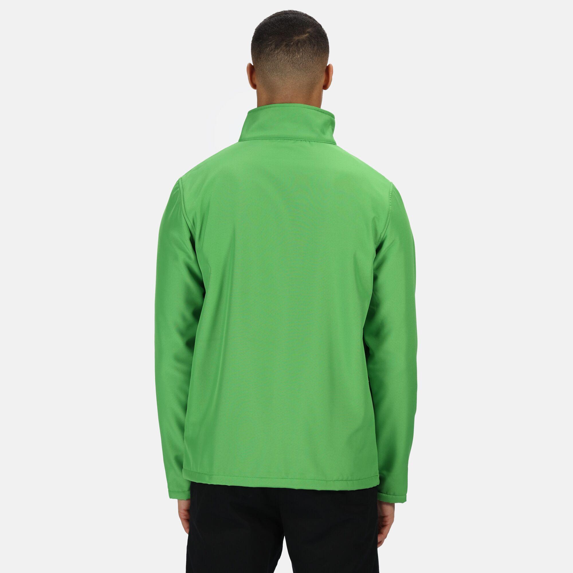 Regatta Standout Mens Ablaze Printable Soft Shell Jacket (M) (Classic Red/Black)