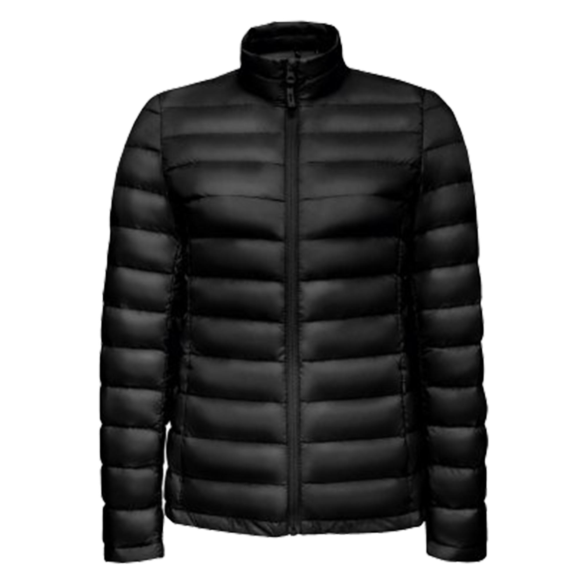SOLS Womens/Ladies Wilson Lightweight Padded Jacket (S) (Black)