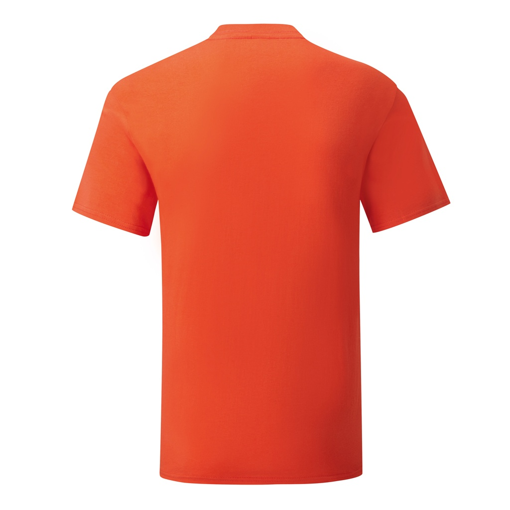 Fruit Of The Loom Mens Iconic T-Shirt (S) (Heather Red)