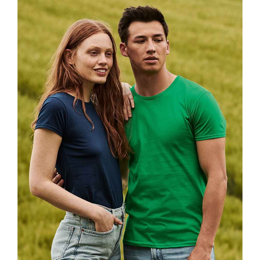 Fruit Of The Loom Mens Iconic T-Shirt (3XL) (Cobalt Blue)