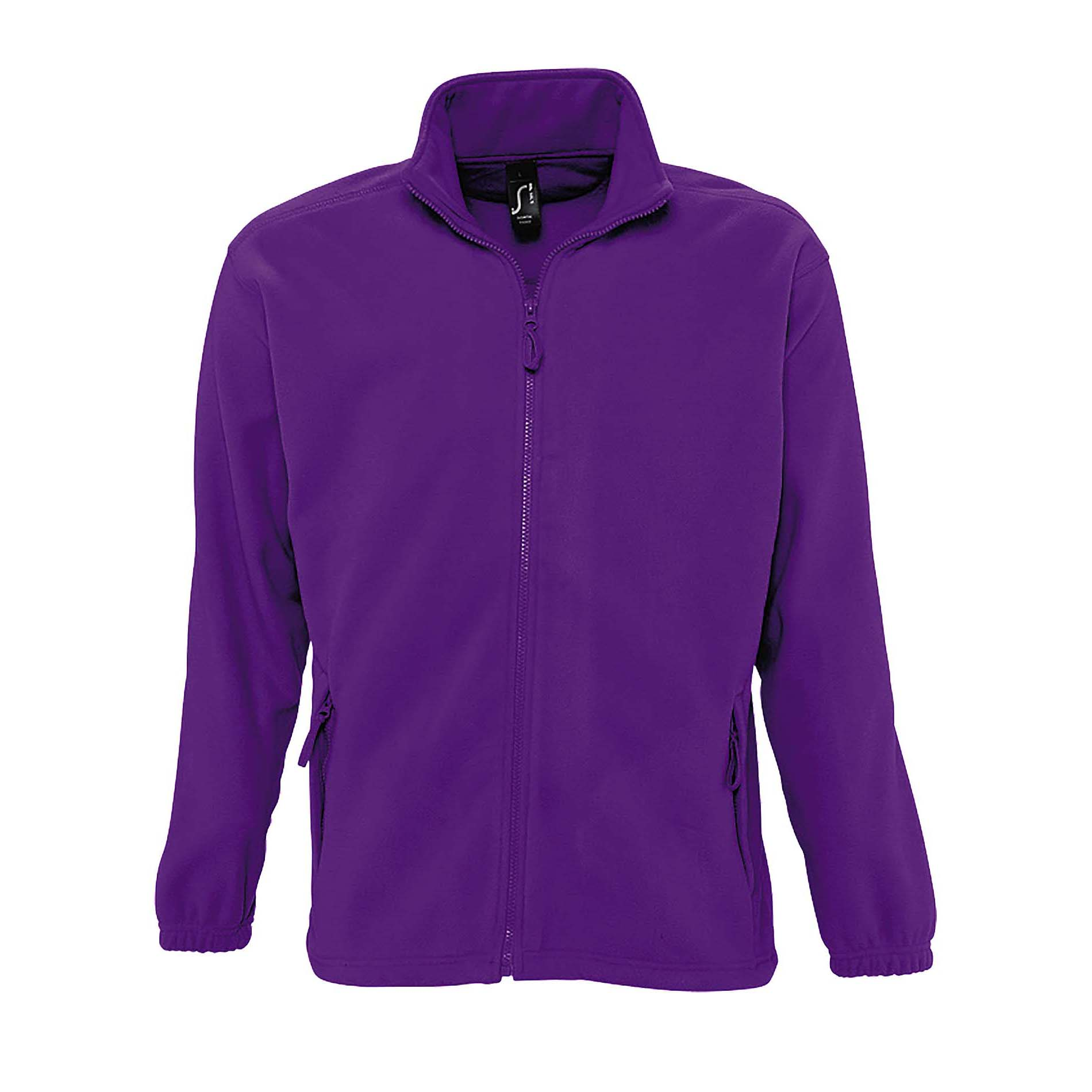SOLS Mens North Full Zip Outdoor Fleece Jacket (XS) (Orange)