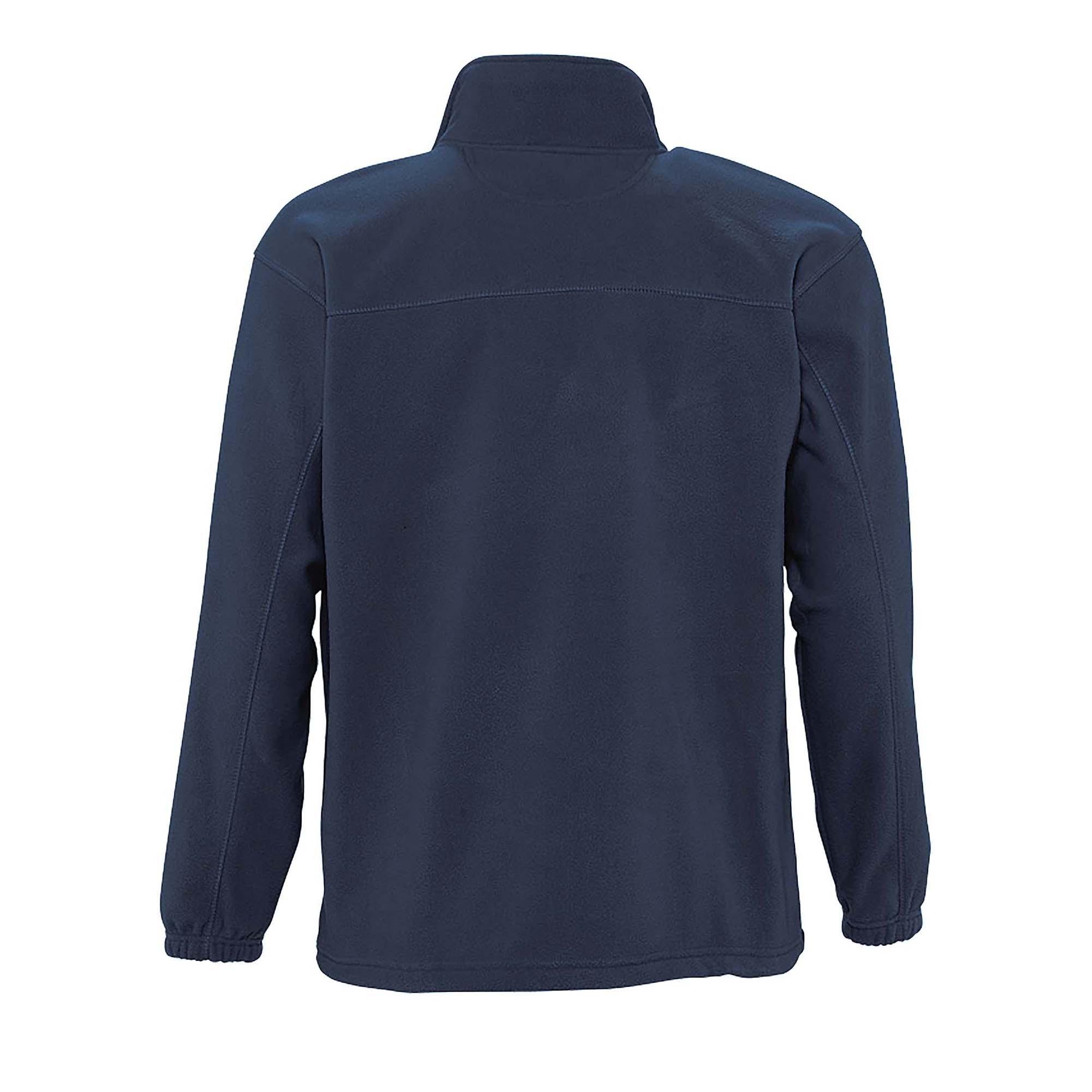 SOLS Mens North Full Zip Outdoor Fleece Jacket (XS) (Dark Purple)