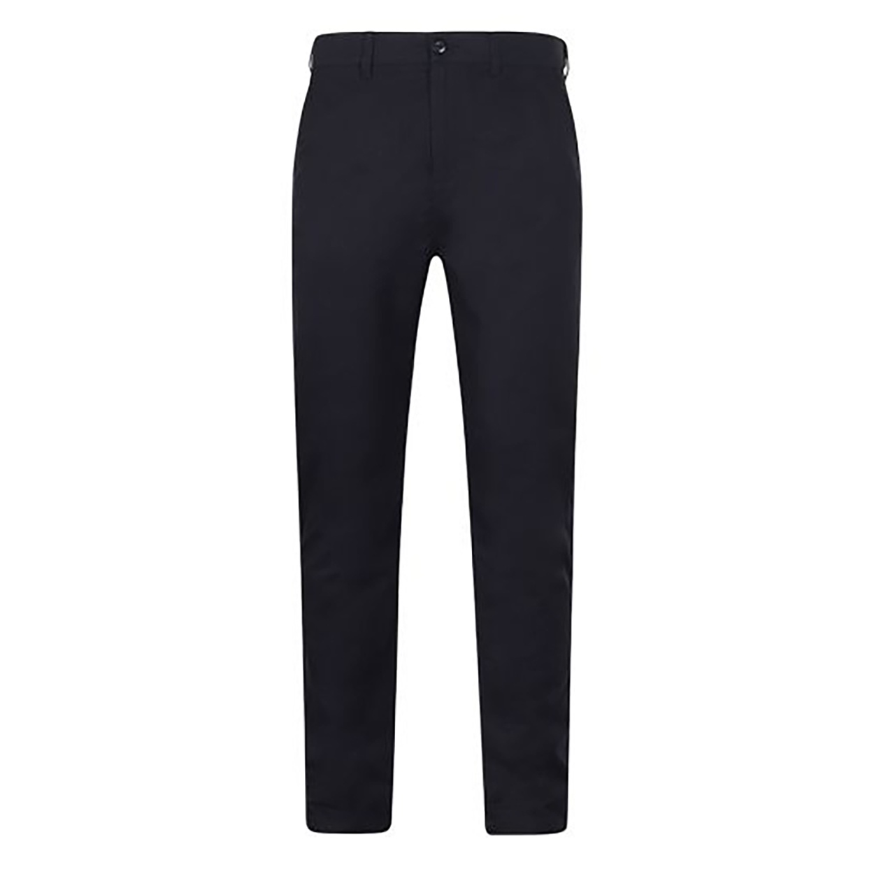 Henbury Mens Stretch Flex Waistband Chino Trousers (42U) (Navy)
