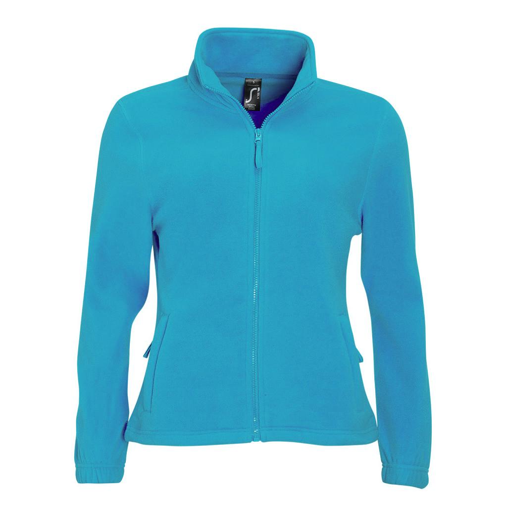 SOLS Womens/Ladies North Full Zip Fleece Jacket (XL) (Aqua)