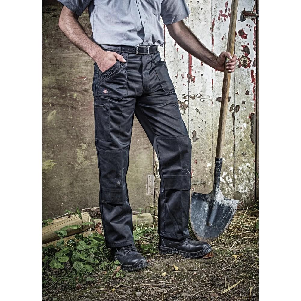 Dickies Mens Redhawk Super Work Trousers (46S) (Navy)