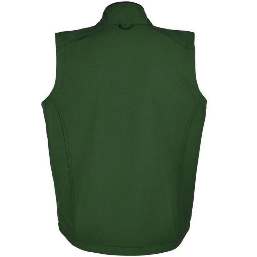 SOLS Mens Rallye Soft Shell Bodywarmer Jacket (M) (Black)
