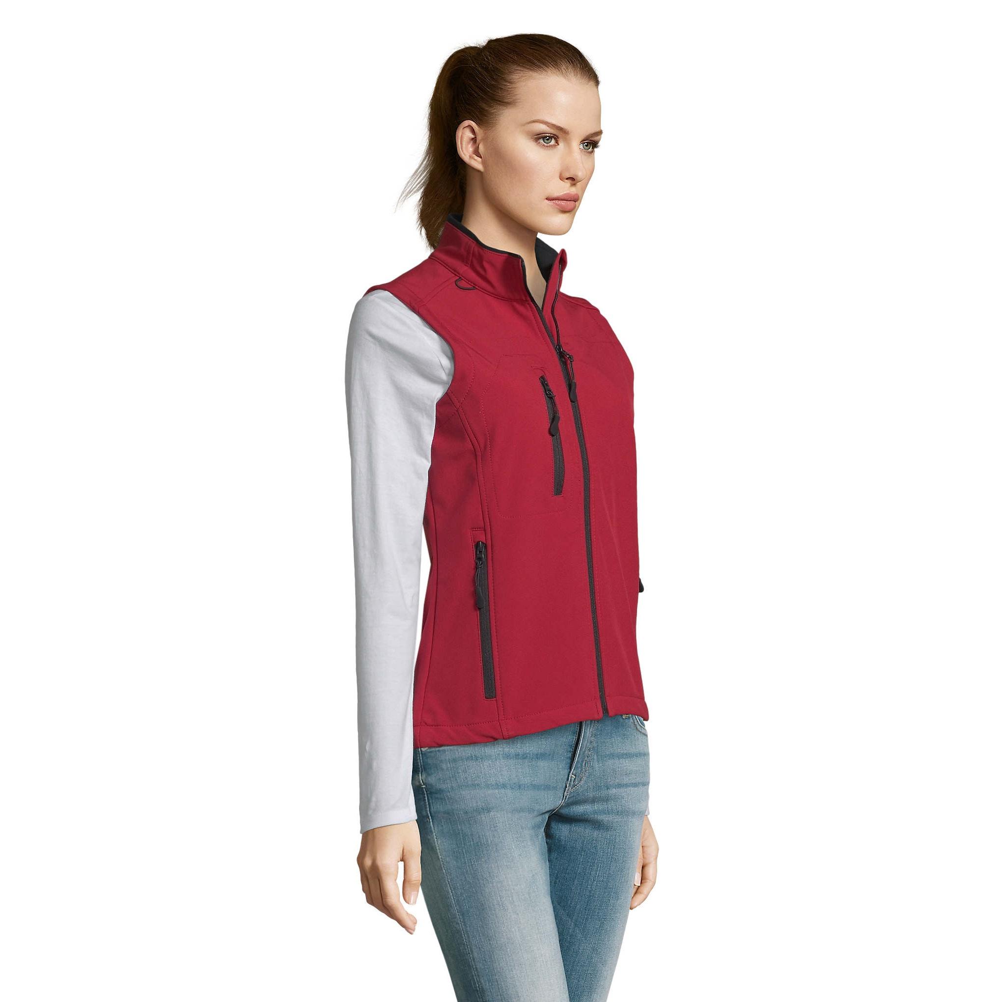 SOLS Womens/Ladies Rallye Soft Shell Bodywarmer Jacket (XXL) (French Navy)