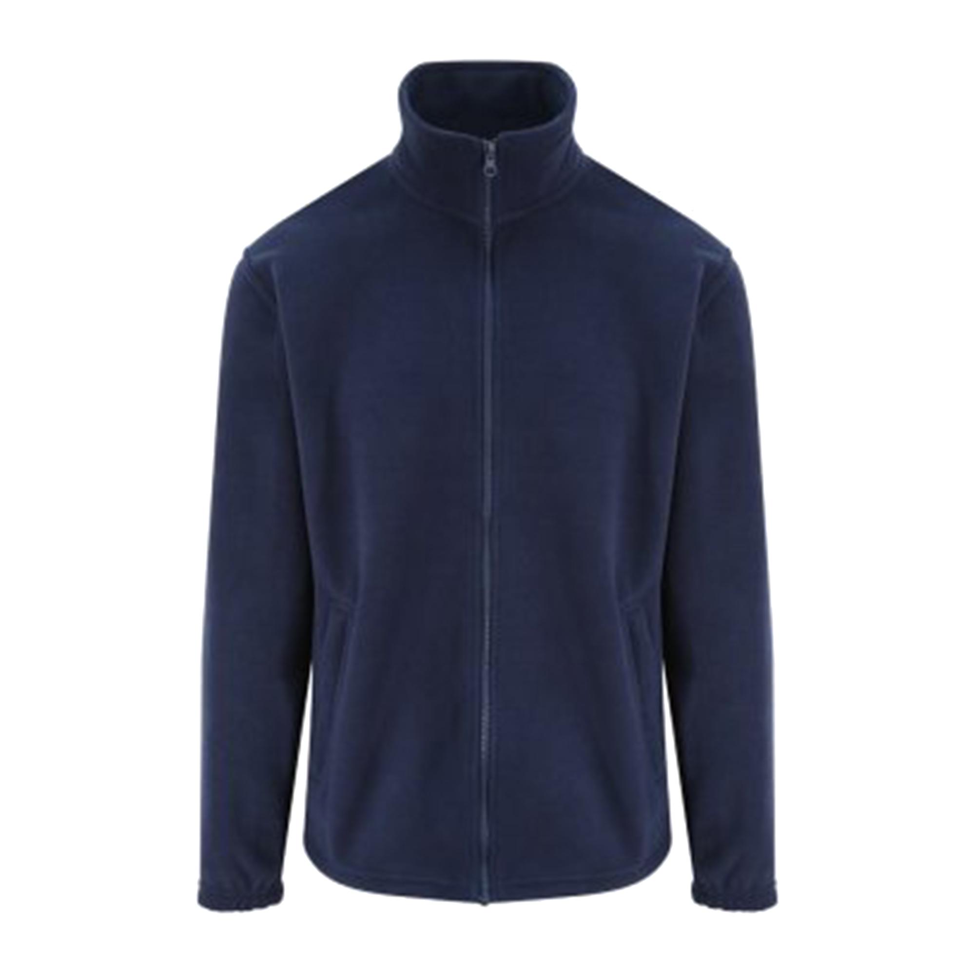 PRO RTX Adults Unisex Pro Fleece Jacket (7XL) (Navy)