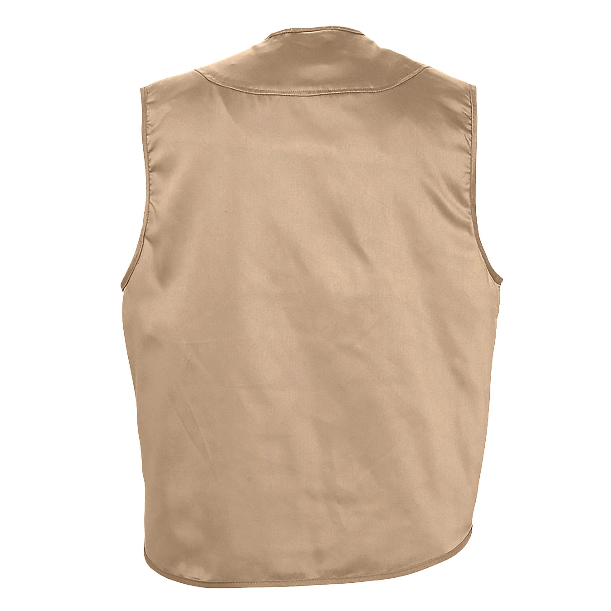 SOLS Wild Unisex Full Zip Waistcoat Bodywarmer Jacket (M) (Rope)