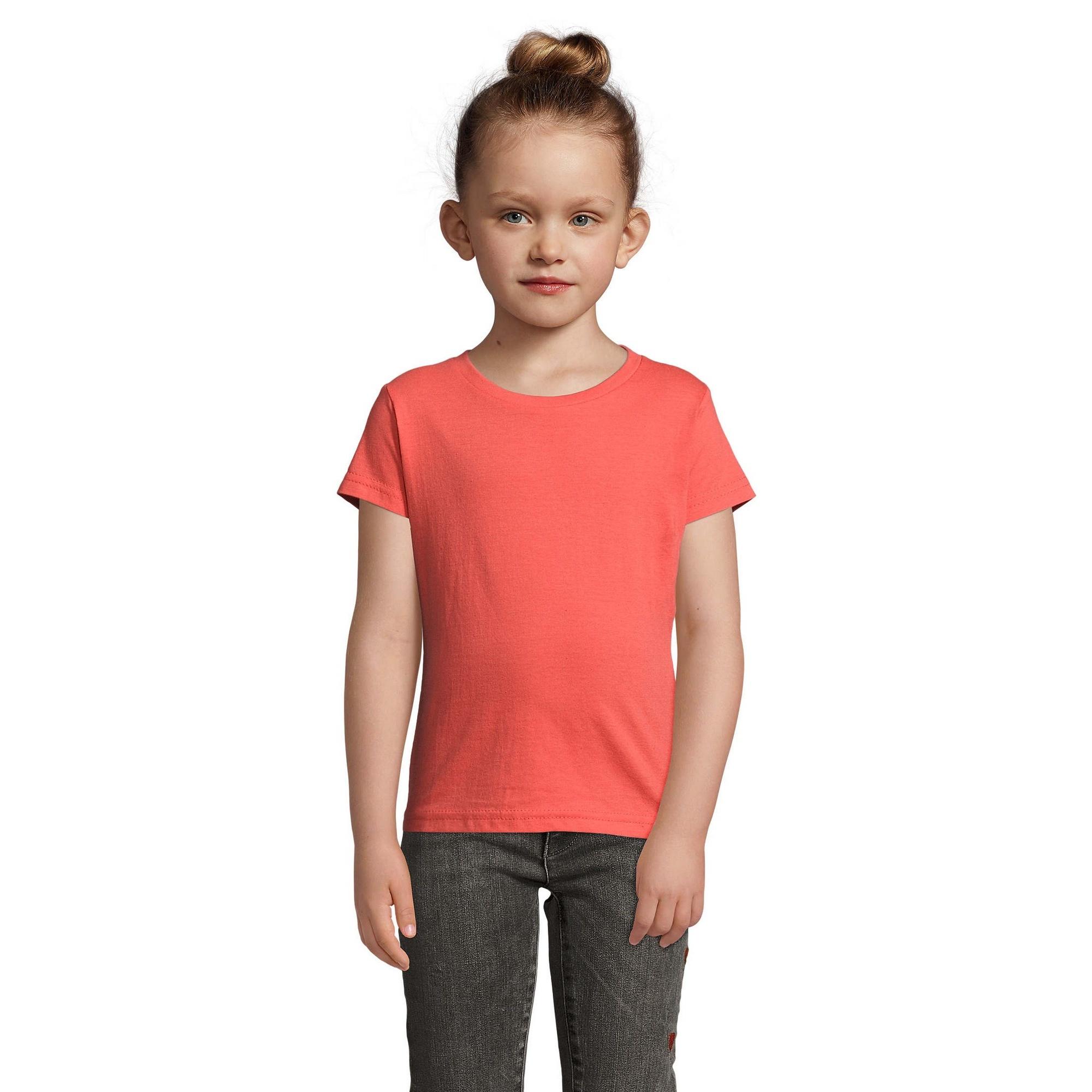 SOLS-Cherry-T-shirt-a-manches-courtes-Fille-7-couleurs-PC358