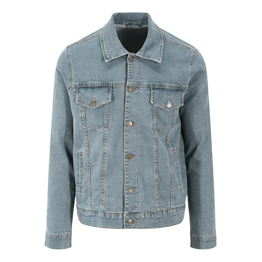So Denim Mens Noah Denim Jacket (XL) (Light Blue Wash)