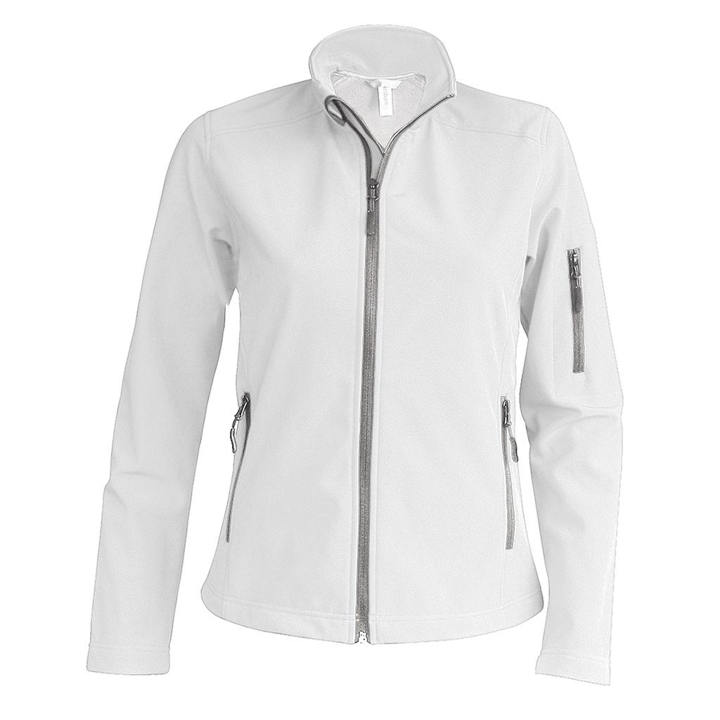 Kariban Womens/Ladies Soft Shell Jacket (XXL) (White)