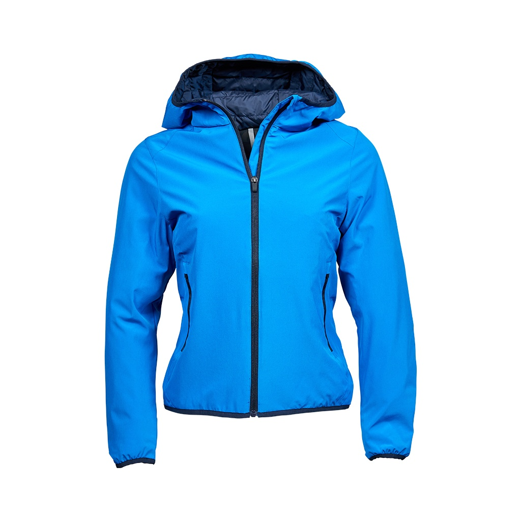 Tee Jays Womens/Ladies Competition Soft Shell Jacket (L) (Ink Blue/Navy)