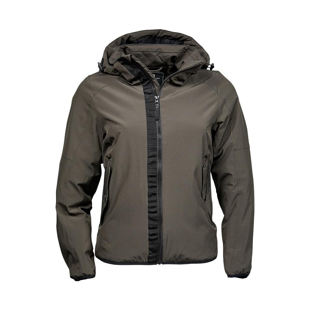 Tee Jays Womens/Ladies Urban Adventure Soft Shell Jacket (XL) (Dark Olive)