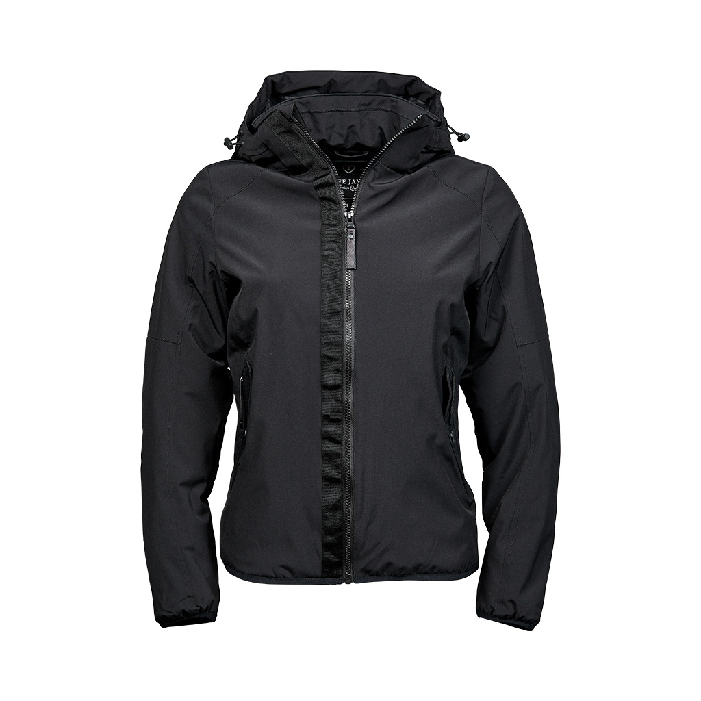 Tee Jays Womens/Ladies Urban Adventure Soft Shell Jacket (L) (Black)