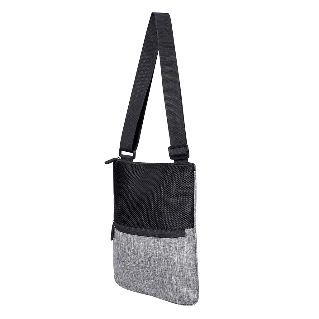 Bags2Go Washington Messenger Bag (One Size) (Grey Melange)